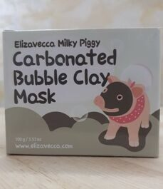 Маска для лица /тм ELIZAVECCA/ Milky piggy carbonated bubble clay mask, 100 гр.